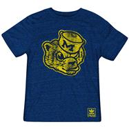 Michigan Wolverines Heather Navy adidas Originals The Balboa Tri-Blend T-Shirt