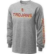 USC Trojans Youth Grey Dimensional T-Shirt