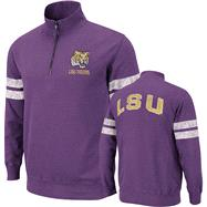 LSU Tigers Purple Flex 1/4 Zip Fleece Sweatshirt