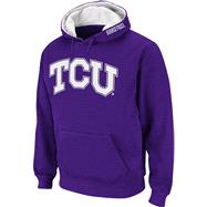 TCU Horned Frogs Purple Twill Tailgate Hooded Sweatshirt