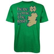 Navy Midshipmen Green adidas Emerald Isle Classic Navy Coming To Dublin T-Shirt
