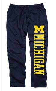 Michigan Wolverines Navy Couch Island Sweatpants