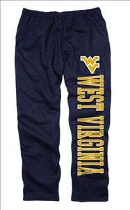 West Virginia Mountaineers Navy Couch Island Sweatpants
