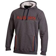 Auburn Tigers Graphite Under Armour 2012 Football Sideline Storm Cotton Hooded Sweatshirt