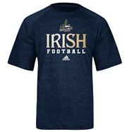 Notre Dame Fighting Irish Navy adidas 2012 Chicago Shamrock Series ClimaLITE Practice T-Shirt
