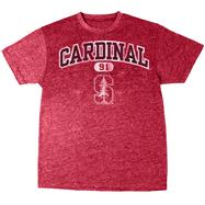 Stanford Cardinal Cardinal Heather Arch T-Shirt