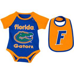 Florida Gators Infant Rocker Creeper and Bib Set