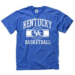Kentucky Wildcats Youth Wide Stripe Basketball T-Shirt
