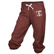 Texas A&M Aggies adidas Maroon Women's Big Better Logo Cropped Capri Pants