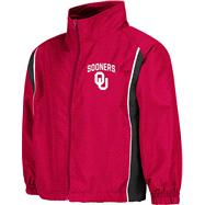 Oklahoma Sooners Kids 4-7 Cardinal Track Jacket