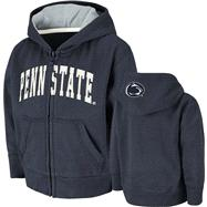 Penn State Nittany Lions Toddler Navy Arcade Full-Zip Hooded Sweatshirt