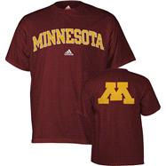 Minnesota Golden Gophers adidas Maroon Relentless T-Shirt