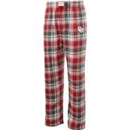 Oklahoma Sooners Youth Cardinal/Crimson Legend Flannel Pants