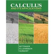 Calculus and Its Applications Plus Mymathlab/Mystatlab Student Access Code Card