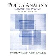 Policy Analysis : Concepts and Practice,9780131830011