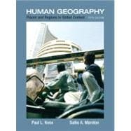 Places and Regions in Global Context : Human Geography,9780321580023