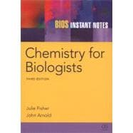 BIOS Instant Notes in Chemistry for Biologists, 9780415680035