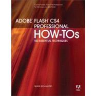 Adobe Flash CS4 Professional How-Tos: 100 Essential Techniqu..., 9780321580047  