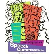 Principles of Speech Communication : Brief Edition