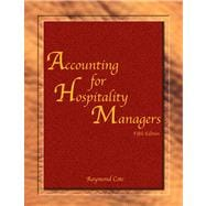 Accounting for Hospitality Managers with Answer Sheet (EI),9780133110050