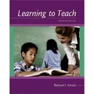 Learning to Teach with Online Learning Center Card with PowerWeb and Student CD-ROM,9780073230085