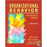 Organizational Behavior: An Experiential Approach,9780131510104