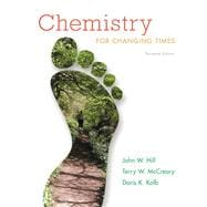 Chemistry for Changing Times Plus MasteringChemistry with eText -- Access Card Package,9780321750105