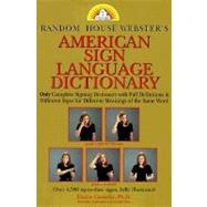 Random House Webster's American Sign Language Dictionary,9780679780113