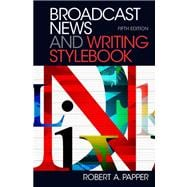 Broadcast News and Writing Stylebook Plus MySearchLab -- Access Card Package,9780205890118