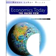 Economics Today: The Macro View with CDROM