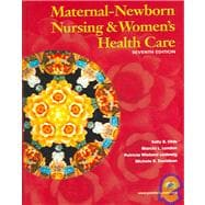 Maternal Newborn Nursing and Women's Health Care & Maternity Card Pkg