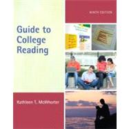 Guide to College Reading (with MyReadingLab with Pearson eText Student Access Code Card)