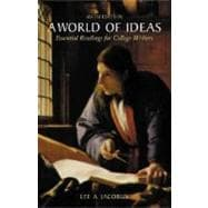 A World of Ideas; Essential Readings for College Writers,9780312390198