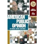 American Public Opinion: Its Origins, Content, and Impact (Update Edition),9780321430199