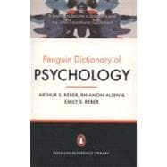 The Penguin Dictionary of Psychology Fourth Edition, 9780141030241  