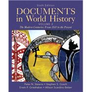 Documents in World History, Volume 2,9780205050246