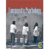 Community Psychology,9780205350261