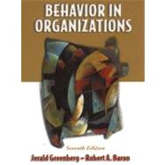 Behavior in Organizations : Understanding and Managing the Human Side of Work,9780130850263