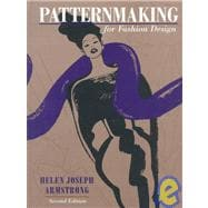 Patternmaking for Fashion Design,9780673980267