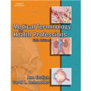 Audio CDs for Ehrlich/Schroeder's Medical Terminology for Health Professions,9781401860271