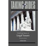 Taking Sides: Clashing Views on Legal Issues,9780078050282