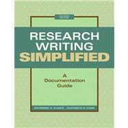 Research Writing Simplified A Documentation Guide Plus NEW MyCompLab -- Access Card Package