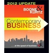 Contemporary Business: 2012 Update, 14th Edition,9781118010303