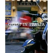 Student Activities Manual for Merlonghi/Merlonghi/Tursi/O'Connor's Oggi In Italia,9780495900320