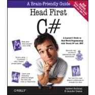 Head First C# : A Learner's Guide to Real-World Programming ..., 9781449380342  