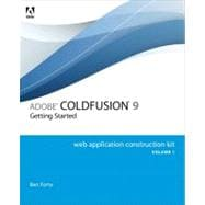Adobe ColdFusion 9 Web Application Construction Kit, Volume ..., 9780321660343  