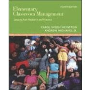 Elementary Classroom Management : Lessons from Research and Practice,9780073010366