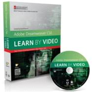 Adobe Dreamweaver CS6 : Learn by Video: Core Training in Web Communication