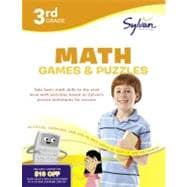 Third Grade Math Games and Puzzles, 9780375430404  