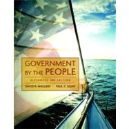 Government by the People, Alternate Edition, 2009 Edition,9780136050407